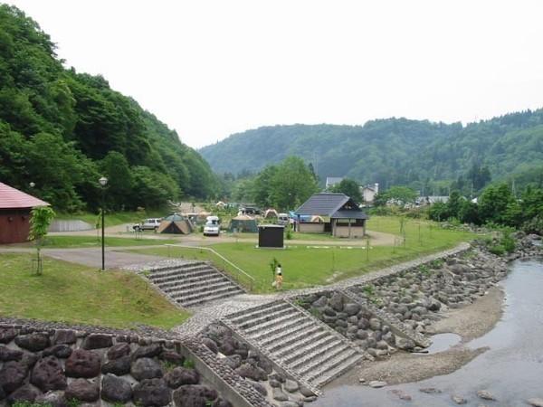 小柳沢砂防公園オートキャンプ場