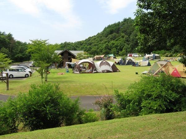 県立中央公園 青少年教育ゾーン ファミリーキャンプ場