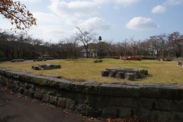 県立中央公園ファミリーピクニックゾーン バーベキュー広場