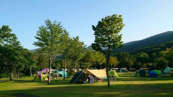 月山・弓張平オートキャンプ場