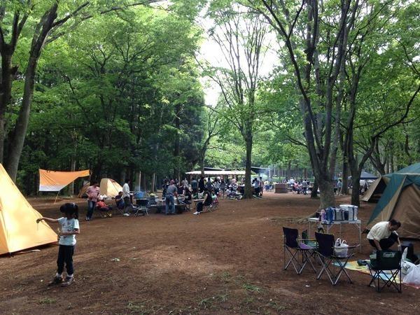 昭和の森フォレストビレッジ フォレストキャンプ