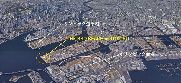 THE BBQ BEACH in TOYOSU(豊洲市場横)- 豊洲市場直送シーフードBBQ-