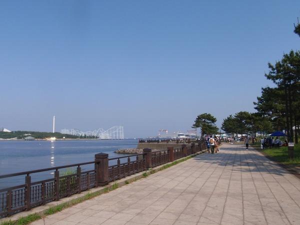 横浜海の公園バーベキュー場