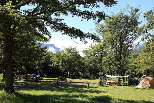 休暇村妙高笹ヶ峰キャンプ場