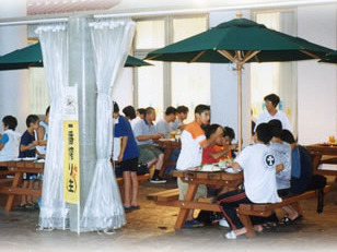 竜洋海洋公園 しおさい竜洋レストランテラス