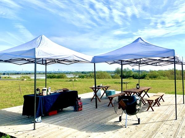 天竜川緑地 Superior BBQ Base