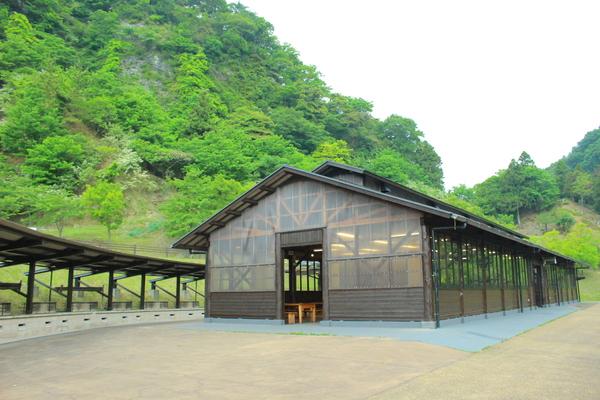 青川峡キャンピングパーク 炭火焼ハウス