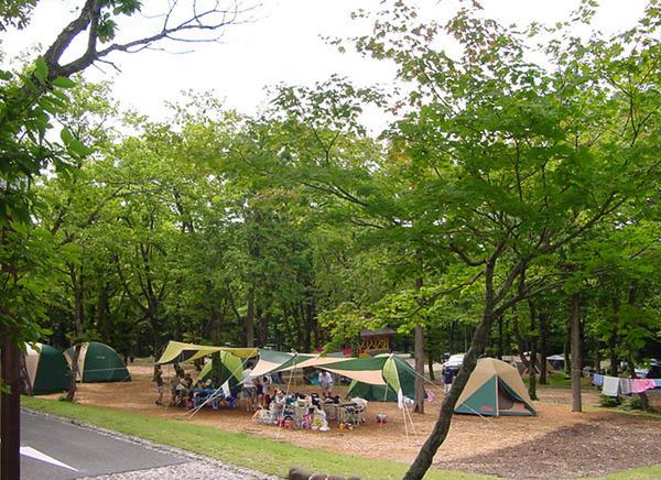 休暇村奥大山 鏡ヶ成キャンプ場