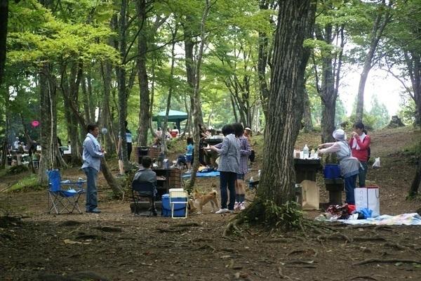 広島県立もみのき森林公園 BBQ広場