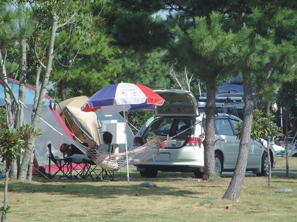 休暇村指宿エコキャンプ場