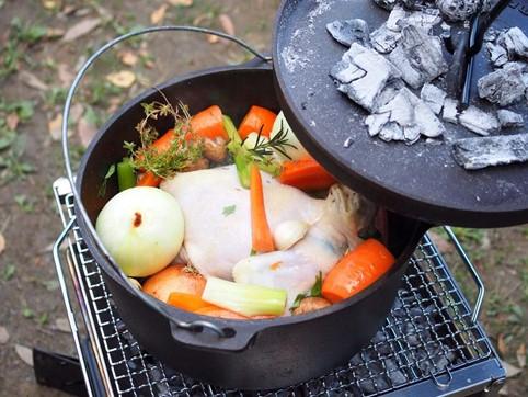 世界一わかりやすいダッチオーブンのシーズニング方法